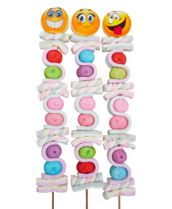 Paka Candy brochette de bonbons