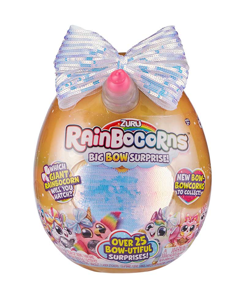 Big Bow Rainbocorn packaging