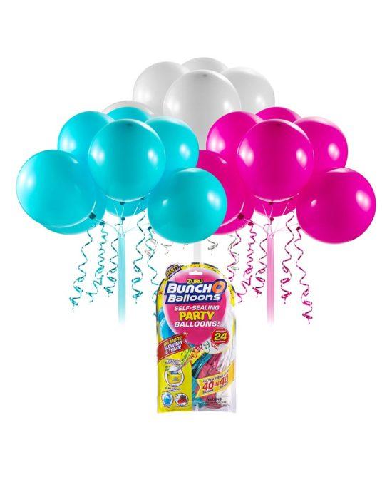 Bunch O Balloons Party refill ballons bleus, roses, blancs