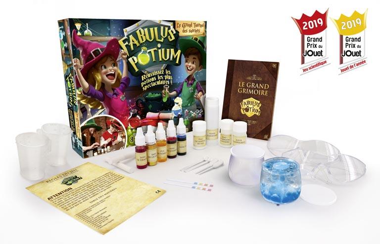 Fabulus Potion, jeu de magie pour enfant