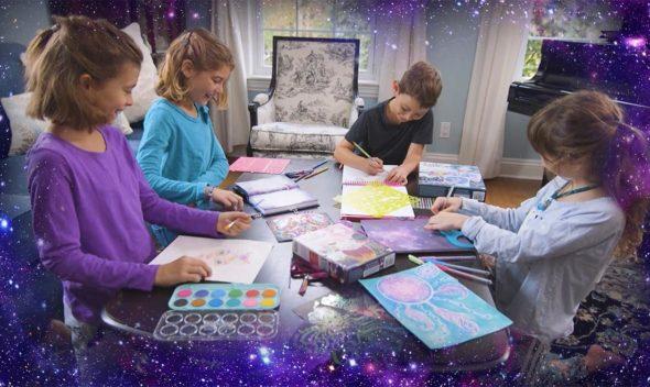 Nebulous Stars, des activités créatives pour les enfants