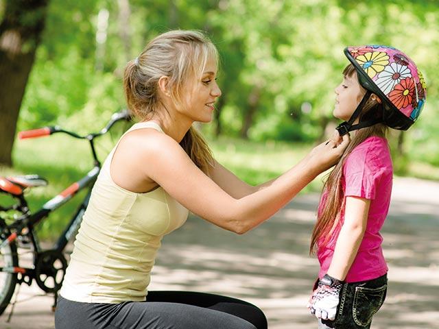 Comment choisir le casque de vélo de son enfant